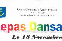 Repas Dansant du 18 Novembre 2014