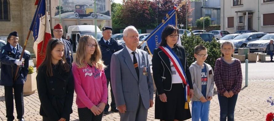 cérémonie du 8 mai à Neufchef