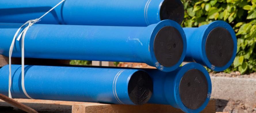 Pose d'une nouvelle canalisation d'eau potable