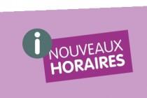 NOUVEAUX HORAIRES DE LA MAIRIE
