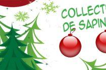 Ramassage des sapins de Noëlles lundi 9 et mardi 10 janvier 2017