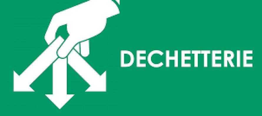 HORAIRES D'OUVERTURE DES DECHETERIES COMMUNAUTAIRES