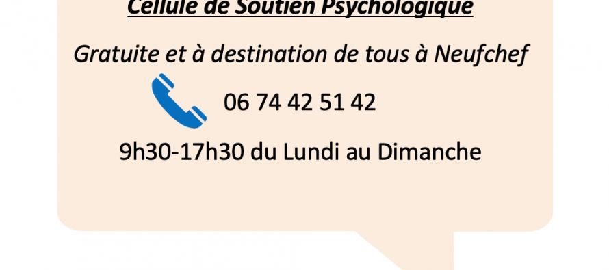 [COVID-19 / SOUTIEN] Une psychologue est à votre écoute gratuitement.