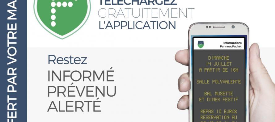 Téléchargez Panneaupocket : une nouvelle application pour les alertes et infos à Neufchef
