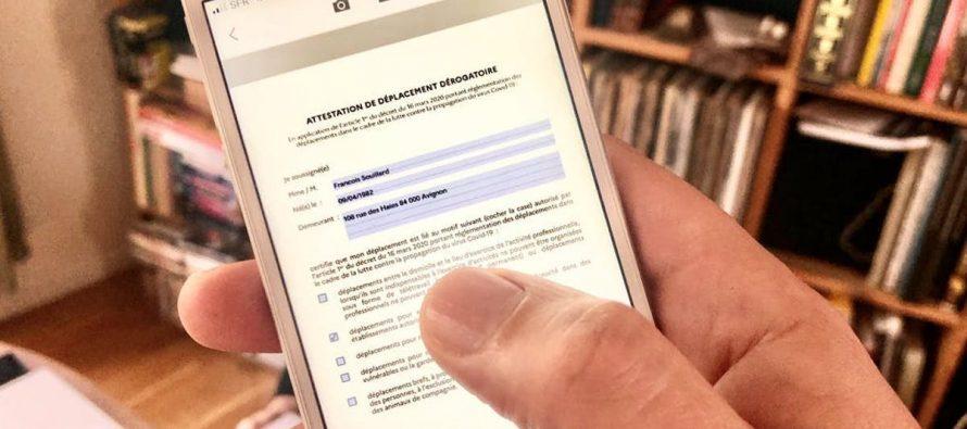 ATTESTATION DEROGATOIRE DE SORTIE NUMERIQUE – ENFIN !