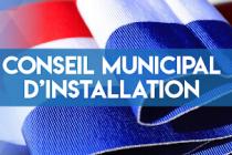 SEANCE D'INSTALLATION DU CONSEIL MUNICIPAL DE NEUFCHEF A SUIVRE EN DIRECT LE 27 MAI 2020
