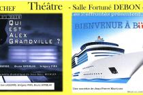 CULTURE EN NOVEMBRE : Sortons au théâtre à Neufchef !