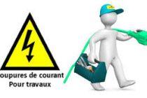 4 AOÛT : COUPURES ELECTRIQUES PREVUES